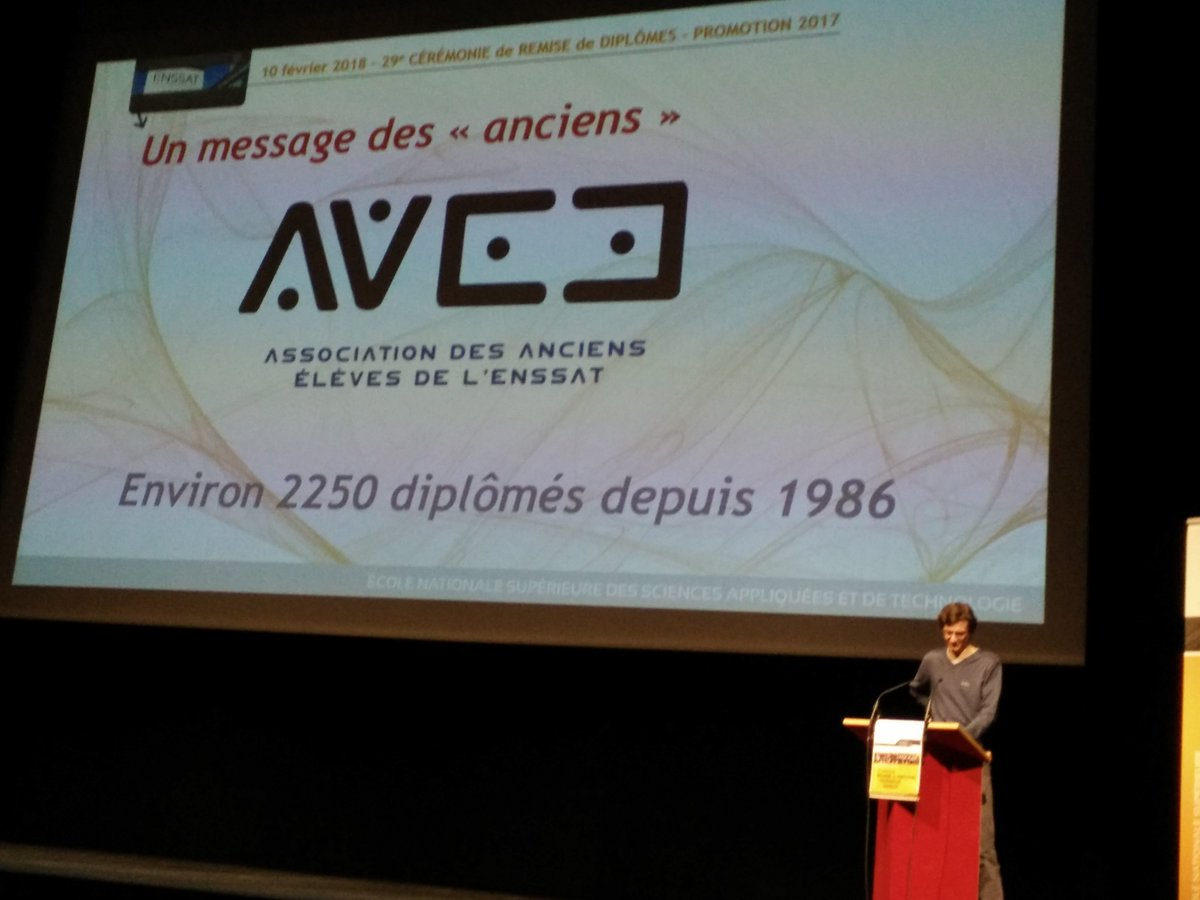 Discours de Laurent Feichter, président de l'AAEE