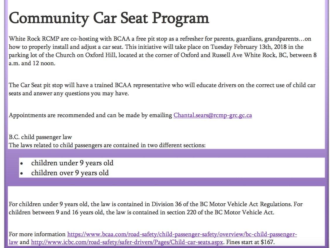 Car Seat Regulations Louisiana