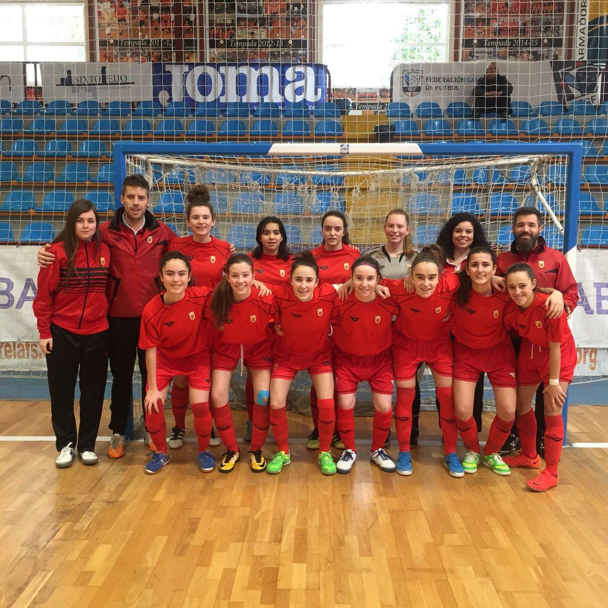 DESDE LA BANDA - FÚTBOL NAVARRO (DLB-FN) | Selección Navarra Fútbol Sala Femenino en Burela.