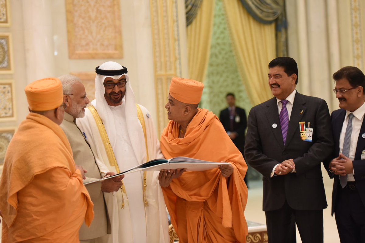 UAE to welcome India's Modi ahead of World Government Summit