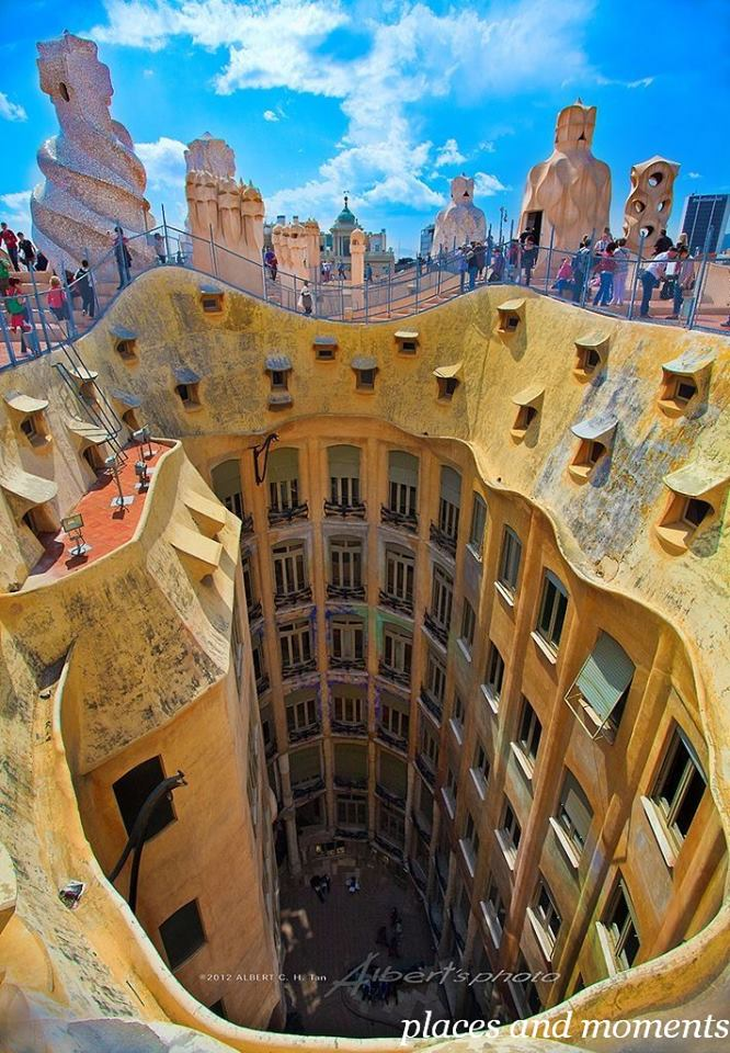 visiter barcelone ticket casa mila coupe file discount - 666×960
