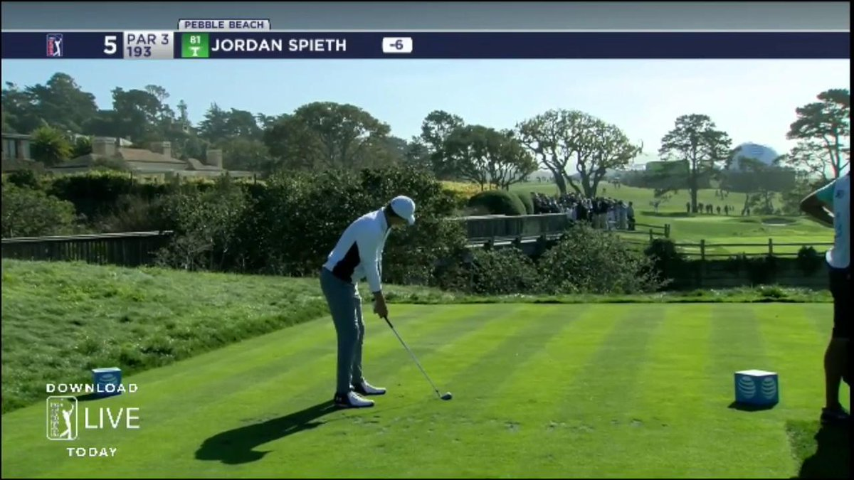 Ray Romano almost killed Jordan Spieth with a skulled bunker shot at Pebble Beach
