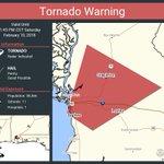 Tornado Warning continues for Daphne AL, Loxley AL, Stapleton AL until 1:45 PM CST