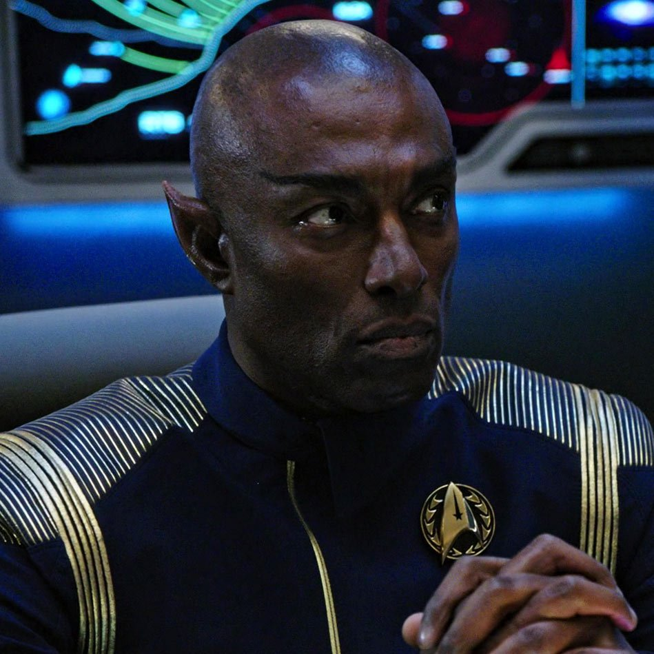 Starfleet Badges In StarTrekDiscovery Arent Just Fancy But They Also Specify Their Rank As Seen On The Worn By Admiral Terral Vice