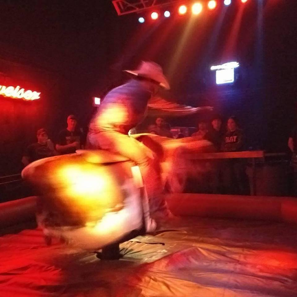Especial. opinion naked mechanical bull riding are