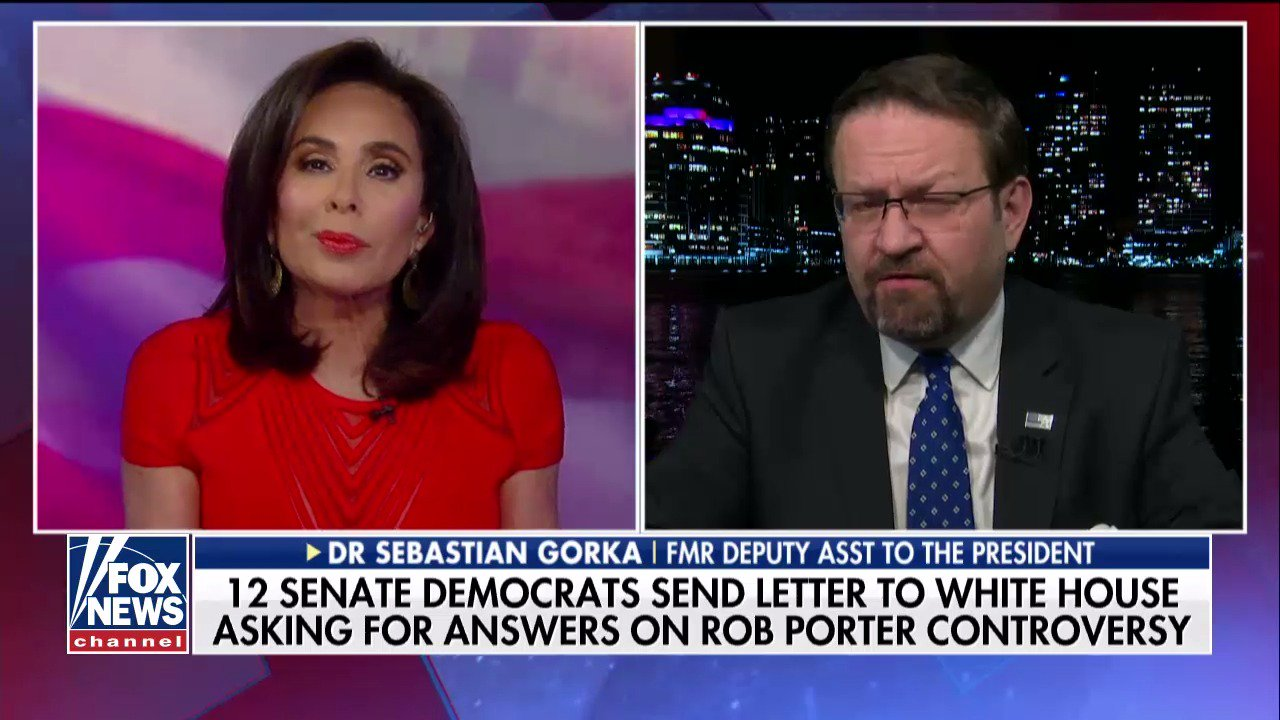 .@SebGorka: 'The swamp has many ways to undermine an administration.' https://t.co/WJsxIk6Ua7 @JudgeJeanine https://t.co/8PBzhm5xES
