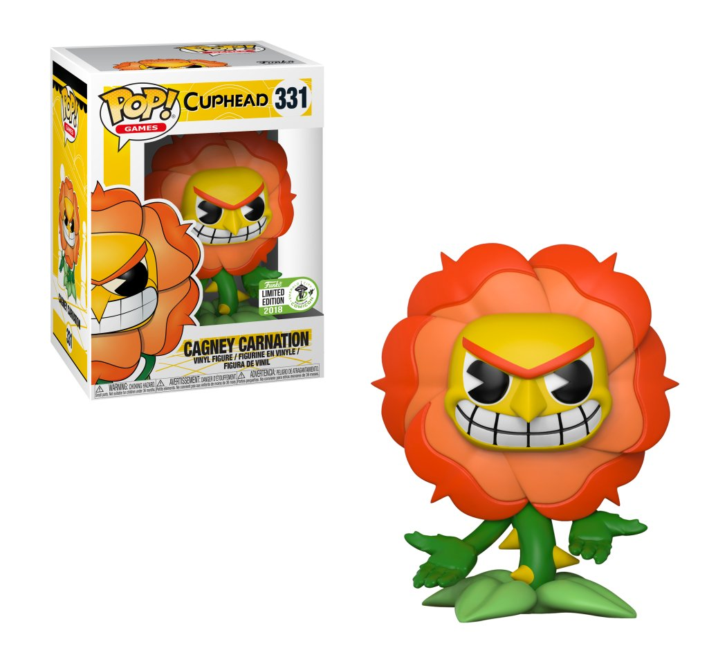 RT & follow @OriginalFunko for a chance to WIN an Emerald City Comic Con exclusive Cagney Carnation Pop!  #ECCC #Cuphead