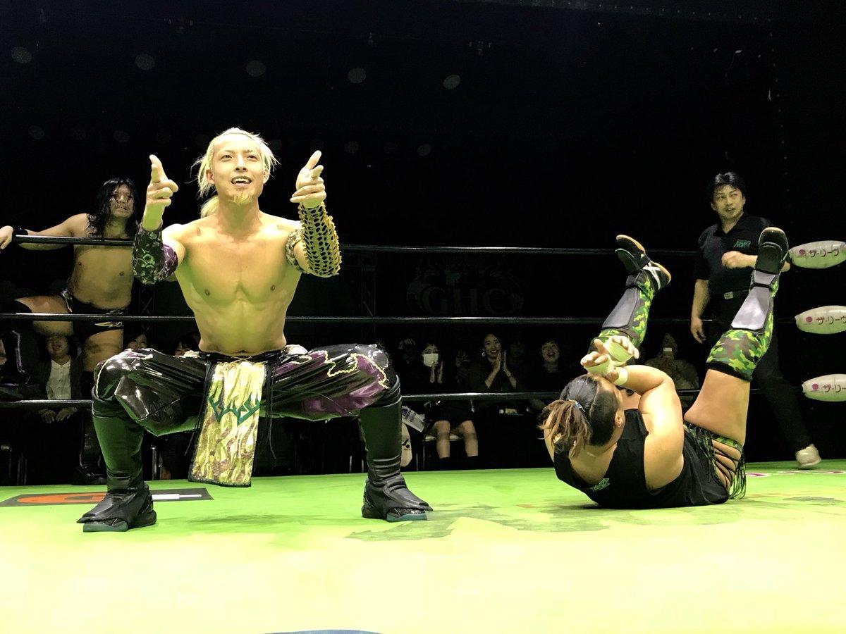 大阪大会、第3試合 今日もゲッツ頂きました! 何故かキツネも頂きました‼︎ 結果...