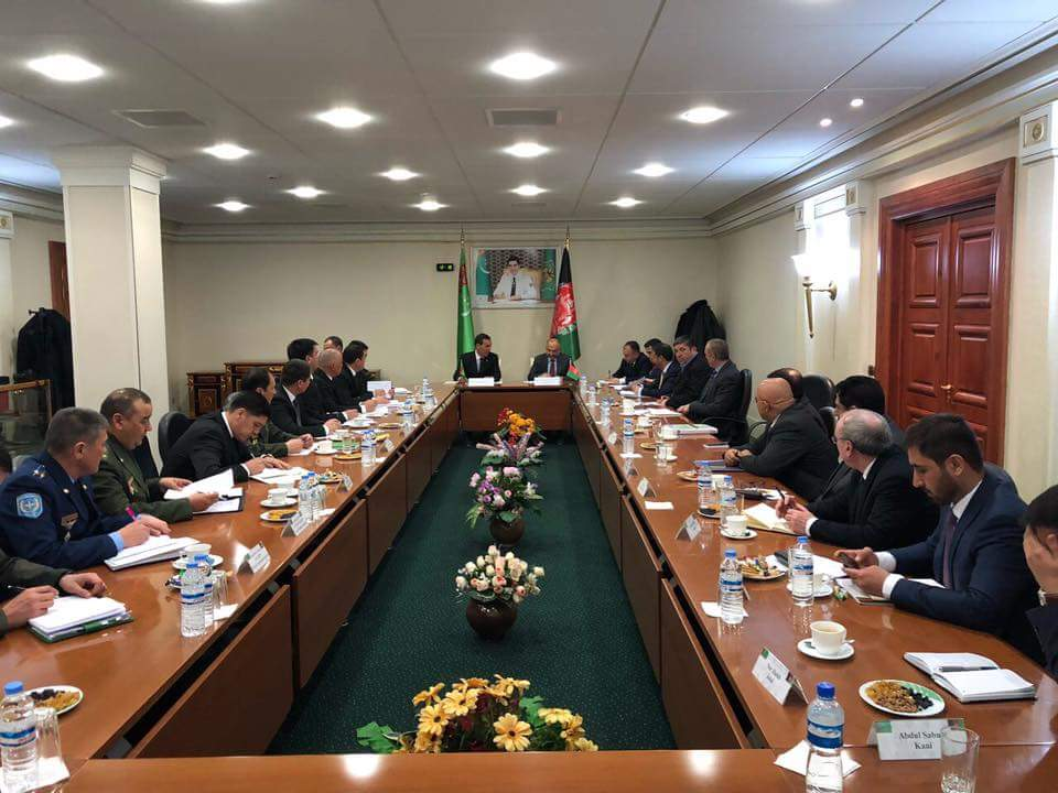 NSA MH Atmar who went on an official visit to Turkmanistan yesterday, had bilateral talks with security & political leadership of Turkmanistan including his Turkman counterpart& the Defense Minister Gen. Yaylym Berdiyev, and the Minister of Foreign Affairs Mr. Rasit Meredow.(1)