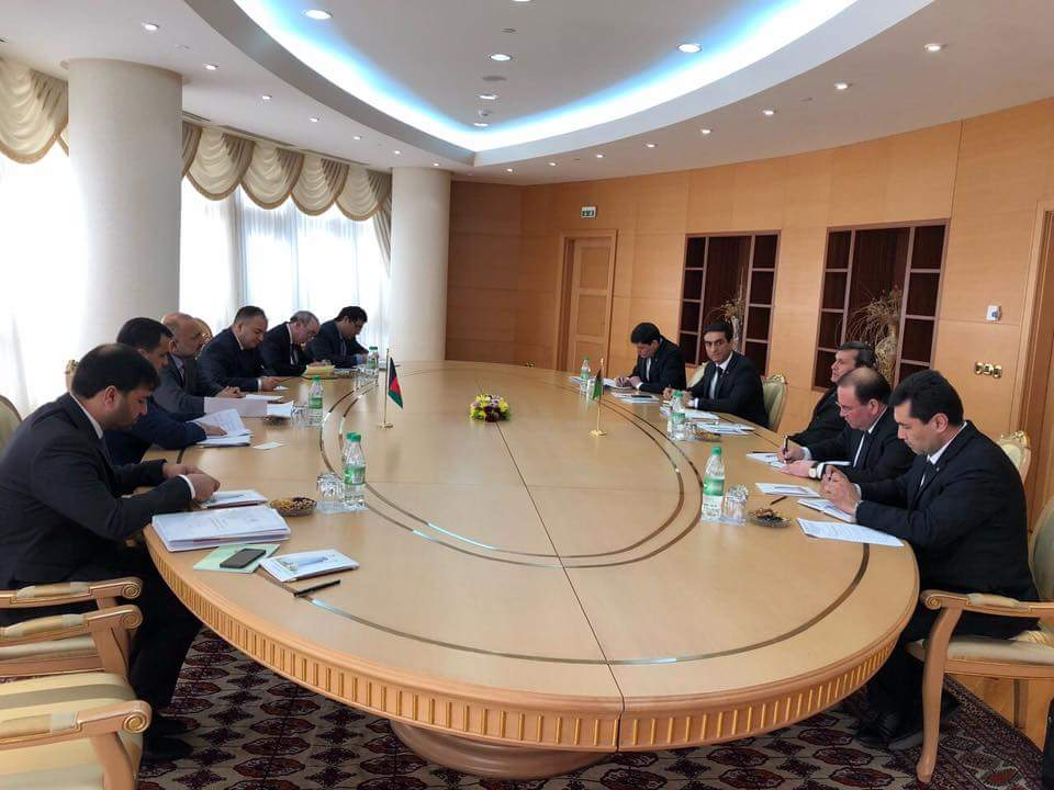 The two sides also talked about security، economic cooperations between AFG & Turkmanistan, and terrorist activities in the region; during the discussion the two sides reached some key developments & agreements on preventing drug trafficking and join combat agianst terrorism.(3)