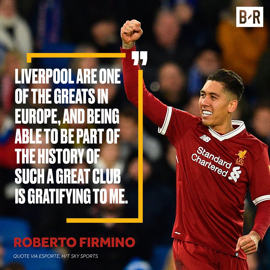 b r football on roberto firmino and liverpool a mutual
