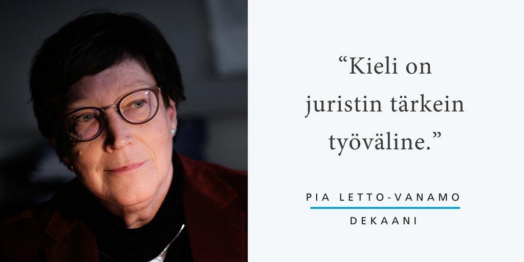 """Kiinnostava huomio myös tämä: """"Ruotsi ja saksa ovat tärkeitä kieliä suomalaiselle juristille. Englannista pitäisi tietää, onko kyse Englannin, Amerikan vai Euroopan englannista, koska se vaikuttaa oikeudellisen tekstin tulkintaan."""""""