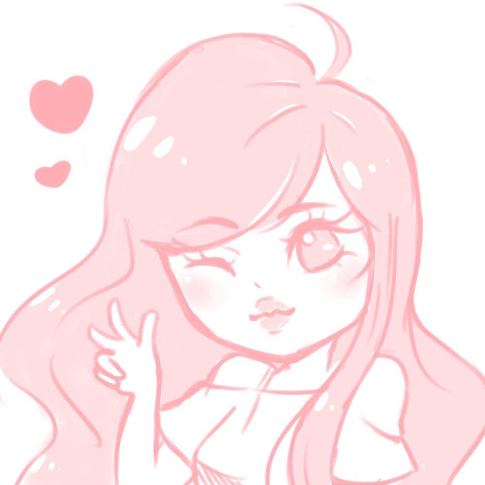 sketch of @lol_Emiru so happy to see her stream again 💕