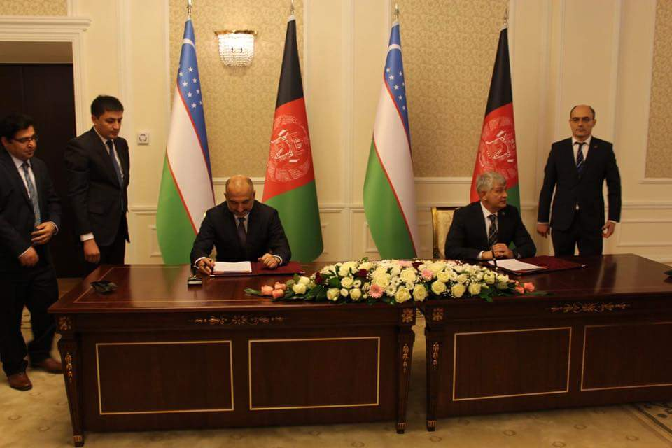 The two sides agreed to develop the implementation plan for the agreements & decisions of the Uzbek-Afghan Joint Security Commission. The sides also had detailed talks about Bilateral cooperation, multilateral relations, peace, countering regional terrorism & drug trafficking.(2)