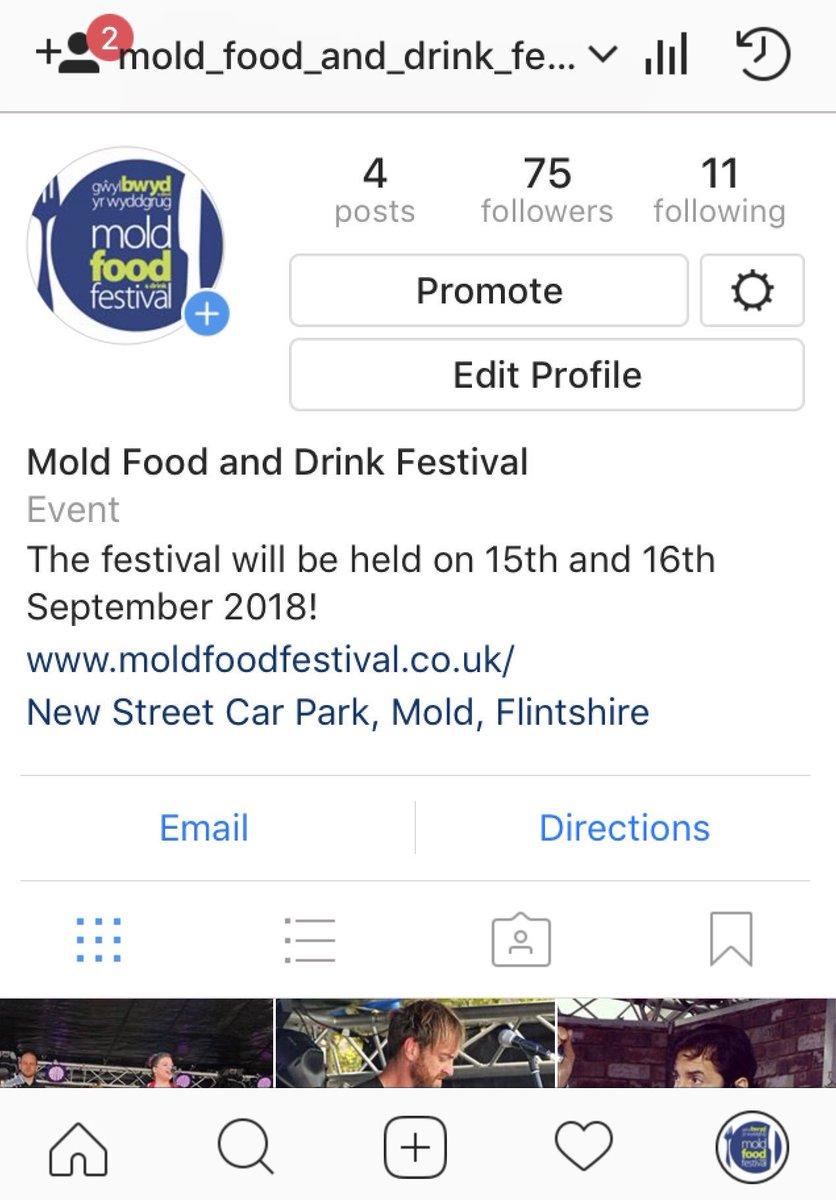 Mold Food Festival  Date