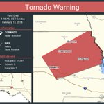 Tornado Warning continues for Marianna FL, Greenwood FL, Bascom FL until 4:45 AM CST