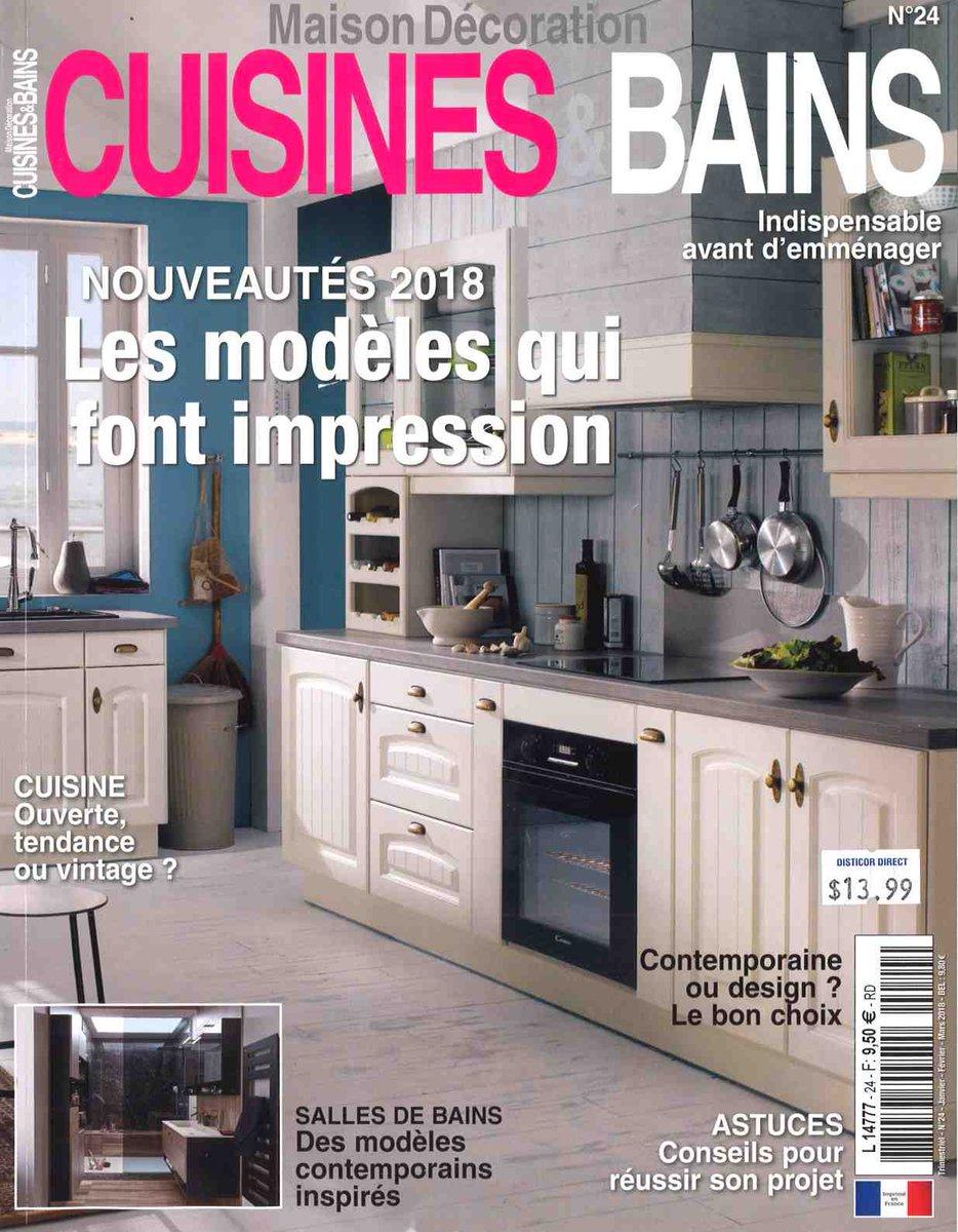 """Nouvelle Salle De Bain 2018 magazines lecto on twitter: """"vous avez besoin d'idées 2018"""