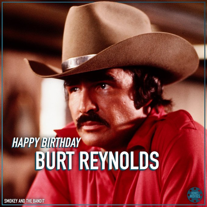 Bandit is 82 today! Happy Birthday, Burt Reynolds!