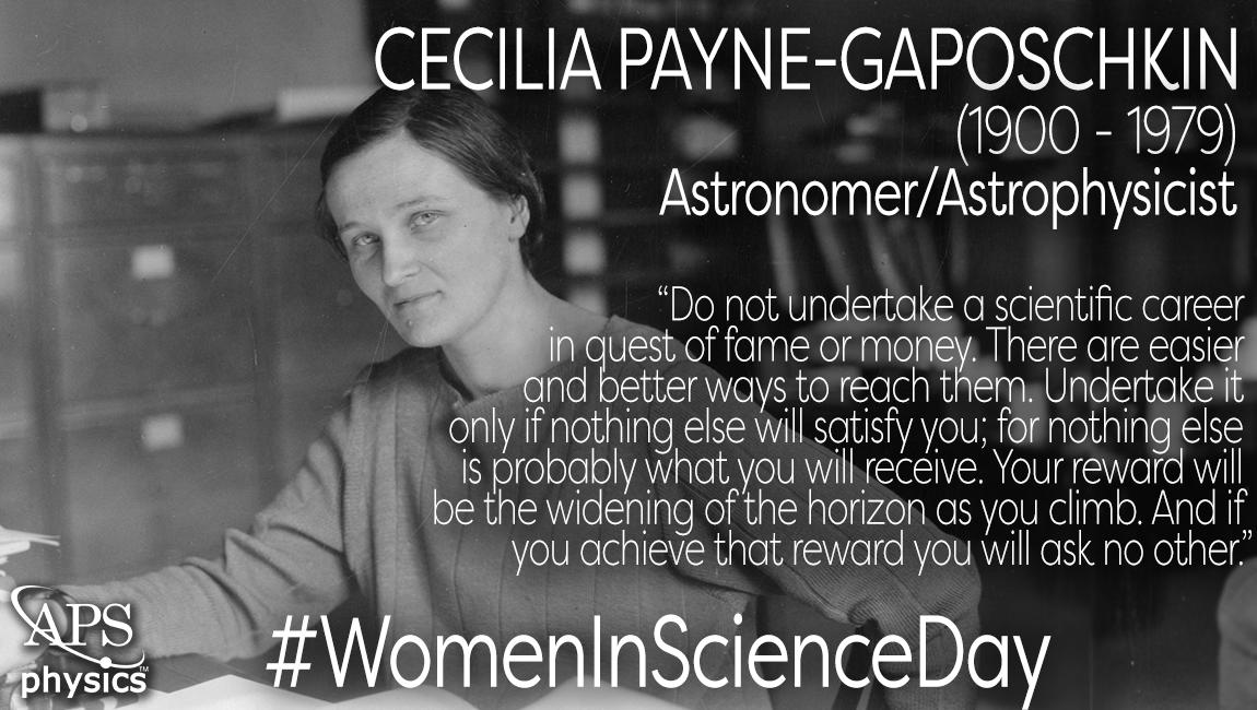 Image result for Cecilia Payne-Gaposchkin
