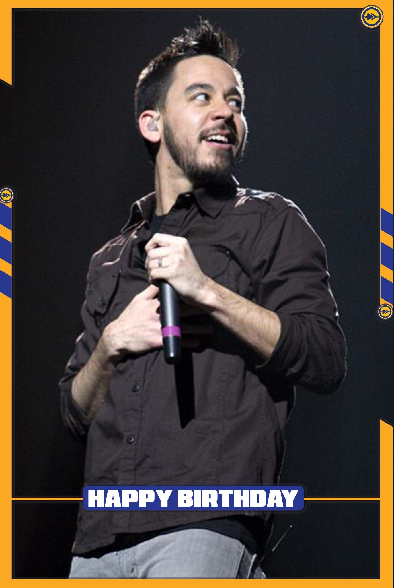 Happy birthday to Mike Shinoda, one of the co founder of the famous band Linkin Park...