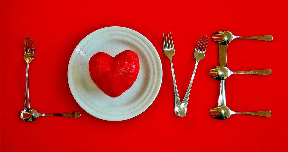 Ужин ко дню святого валентина рецепты