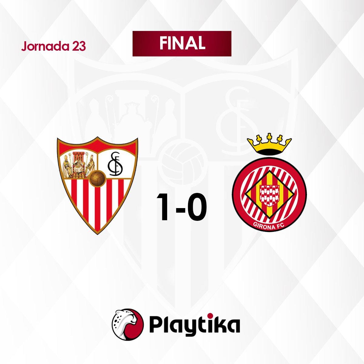 Final del partido en Nervión #SevillaFC...