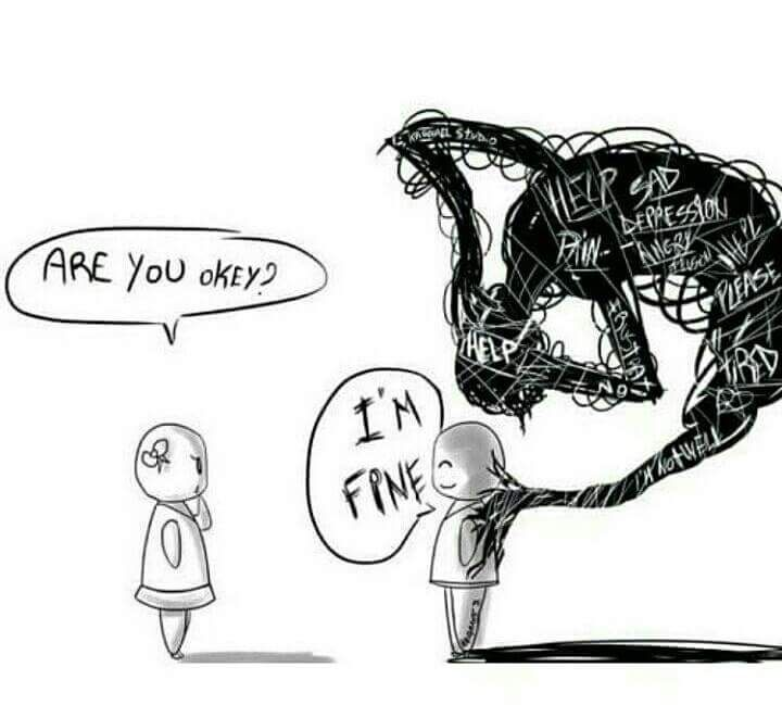 Sane On Twitter Do You Lie To Hide The Truth Of Your Depression