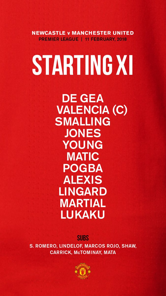 "Manchester United On Twitter ""Ini Dia Daftar Pemain MUFC"