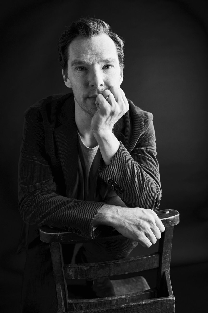 2 more wonderful portraits of Benedict at TIFF taken by Billy Kidd studios. ❤️