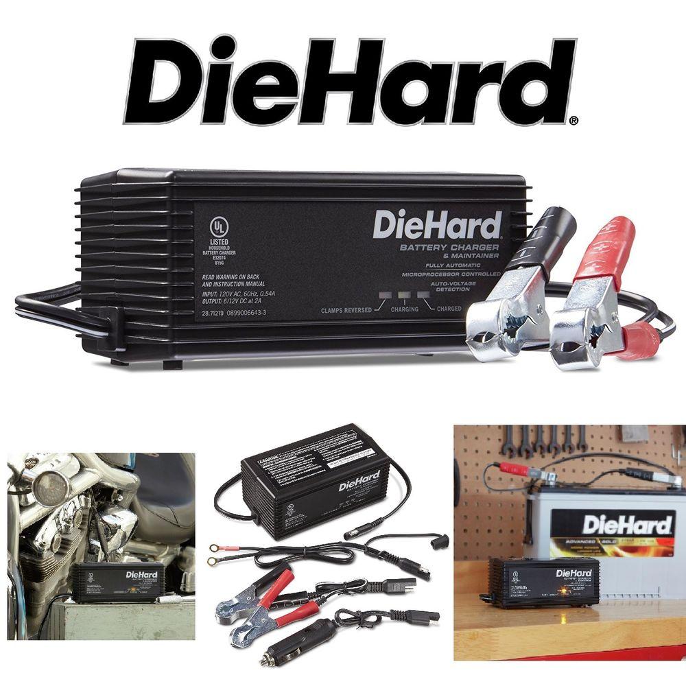 Die hard Battery charger engine Starter 71222 manual