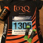 Windy day of racing at Bramley 20miler. Unintentional theme in fuelling and post race food! #bramley #applepie #applecrumble #TORQfuelled