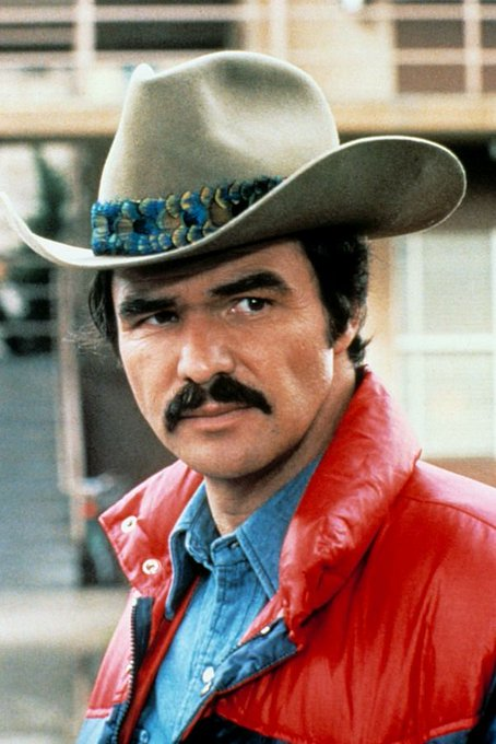 Happy birthday to Burt Reynolds. Photo from Hooper, 1978.