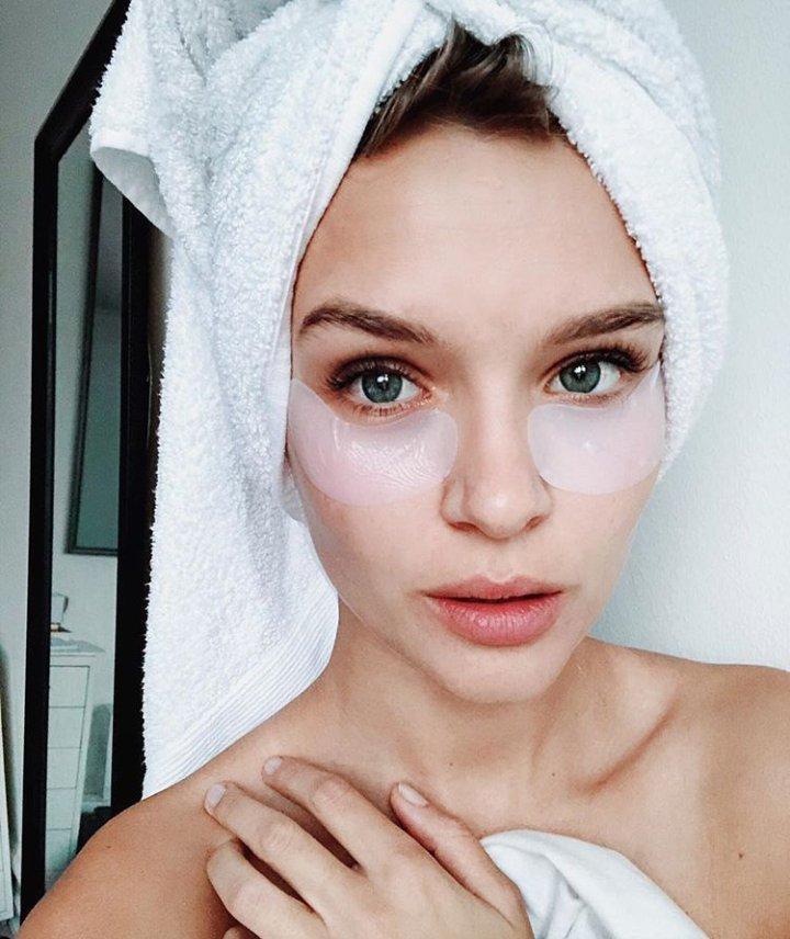 Фото с полотенцем на голове инстаграм