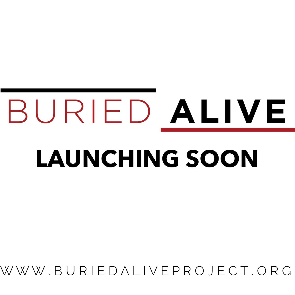 Buried Alive Project on Twitter: