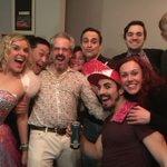 Another great #ragbagcabaret @VillagePlayrsTO with @cbartelse @lukejacksonuk @KeithHBrown @cjsawchyn @zyraleevanity @TheLeonardChan El Toro, John Park & Cheryl White.#momlife