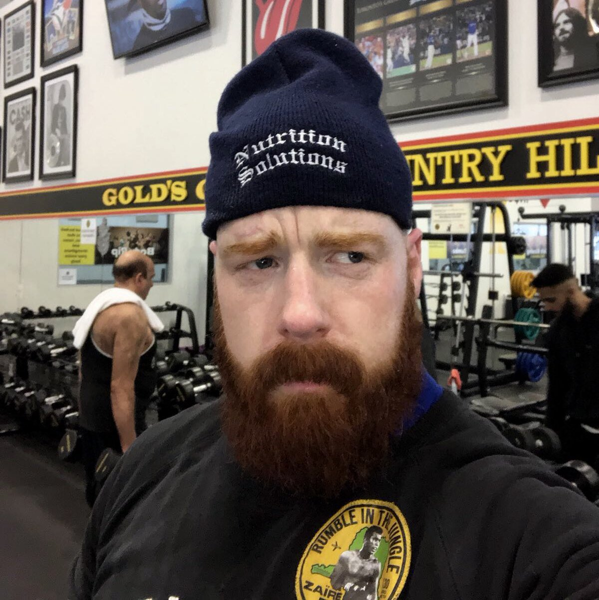 Sheamus On Twitter Whats Under My Hat Best Guess Gets Free