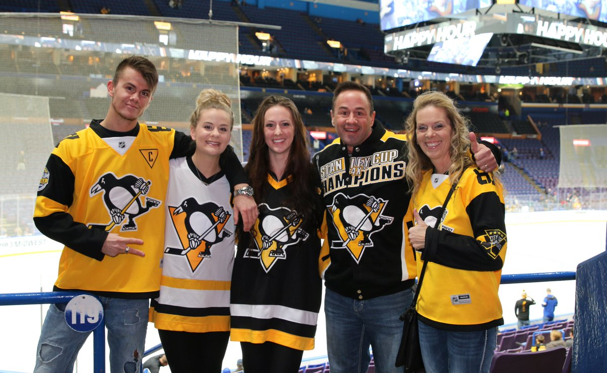625862c22 These Wisconsinites have been Penguins fans since Mark Johnson was drafted.  To no one s surprise