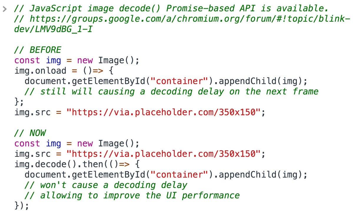 Serg Hospodarets On Twitter Javascript Image Decode Promise