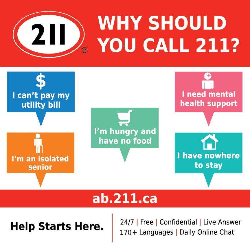 211 Calgary And Area 211calgary Twitter