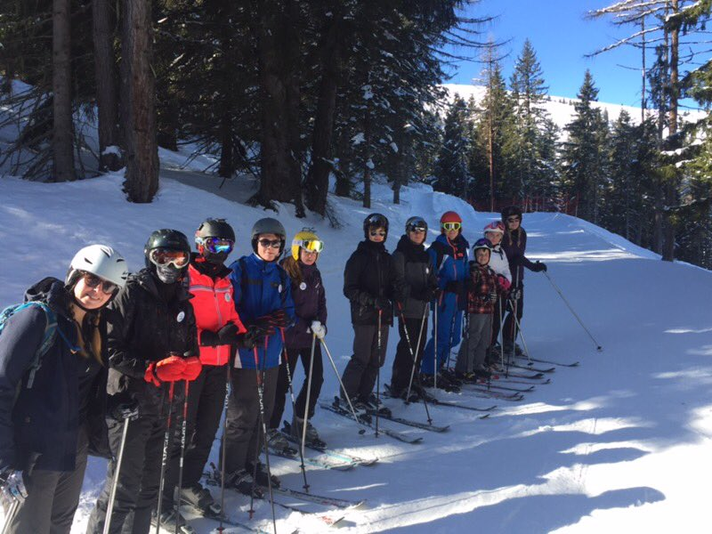 Amazing first day, kids have loved it! Perfect conditions! #rodillianskitrip