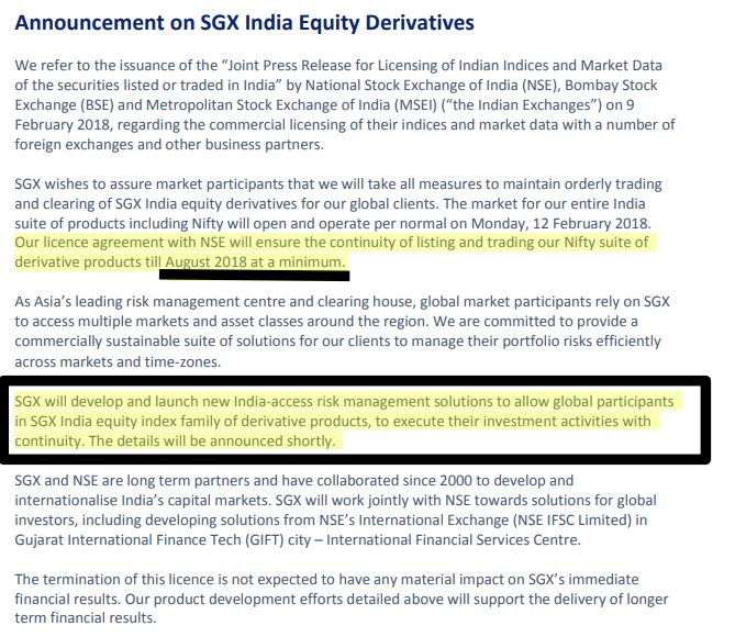India Equityresearch On Twitter Sgx Nifty To Continue At Least
