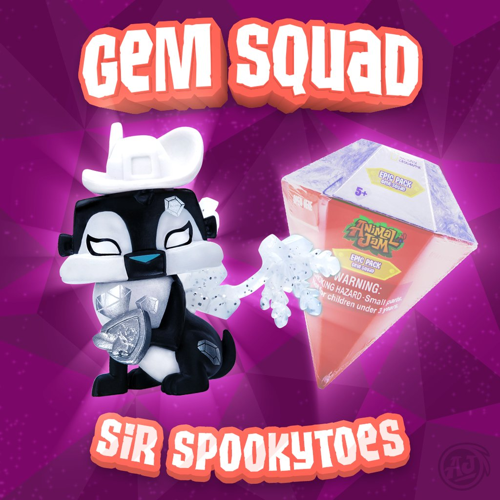 Animal Jam On Twitter Gem Squad Toys Are Now Available