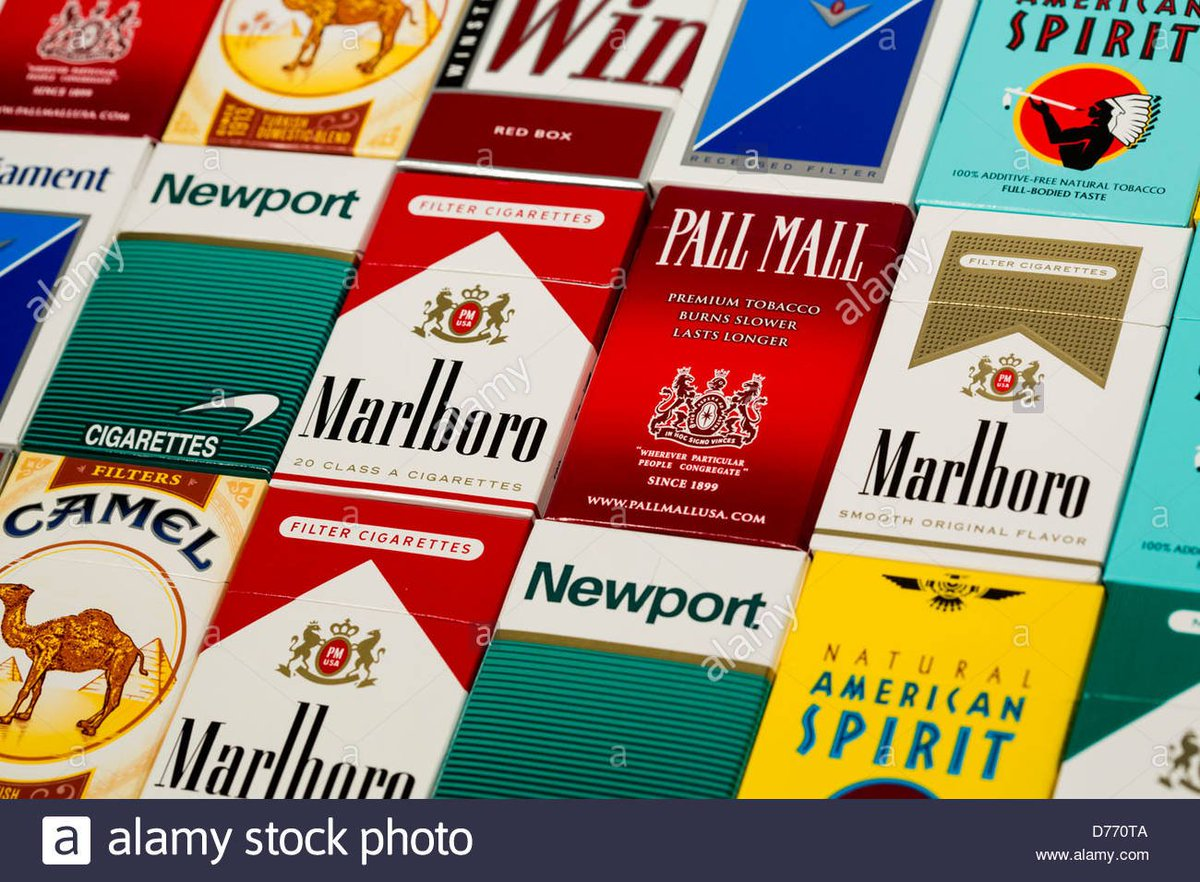 Pall Mall cigarettes from