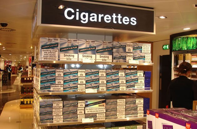Marlboro lights nicotine percent