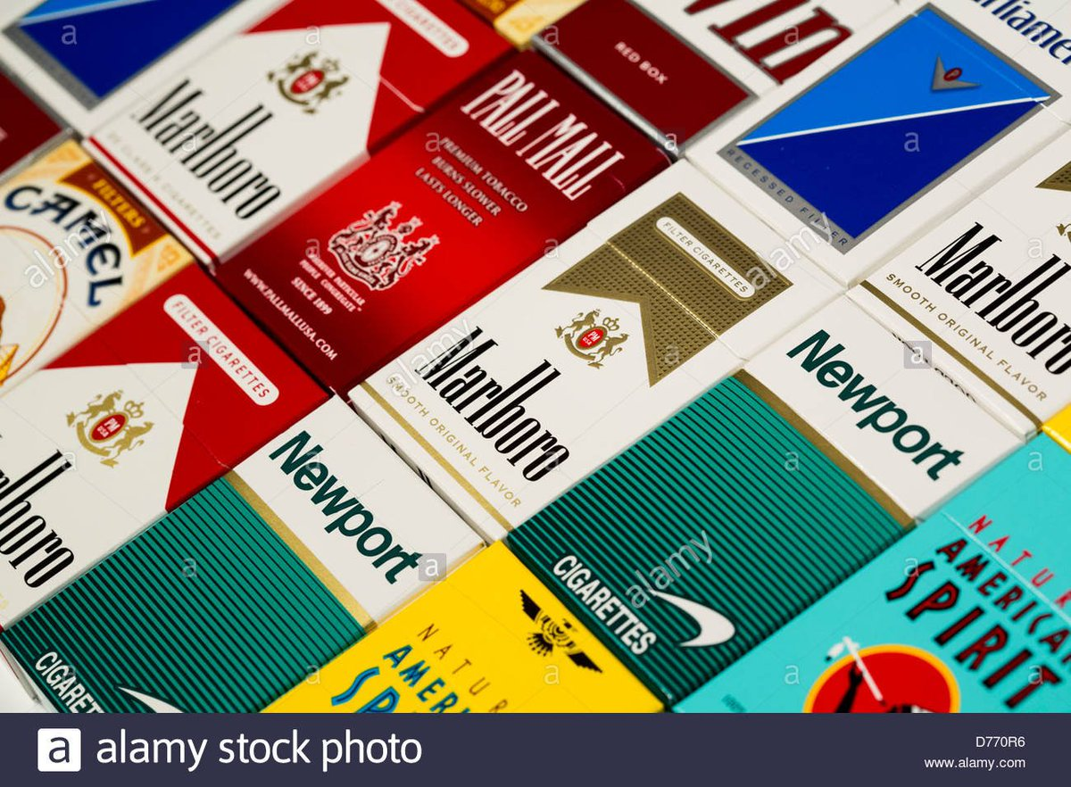 Cigarettes in Spain prices