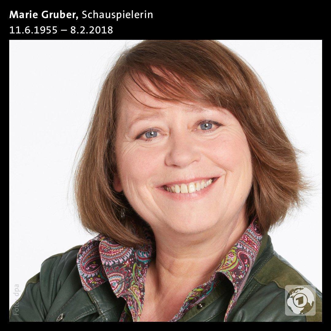 Marie Gruber Krankheit