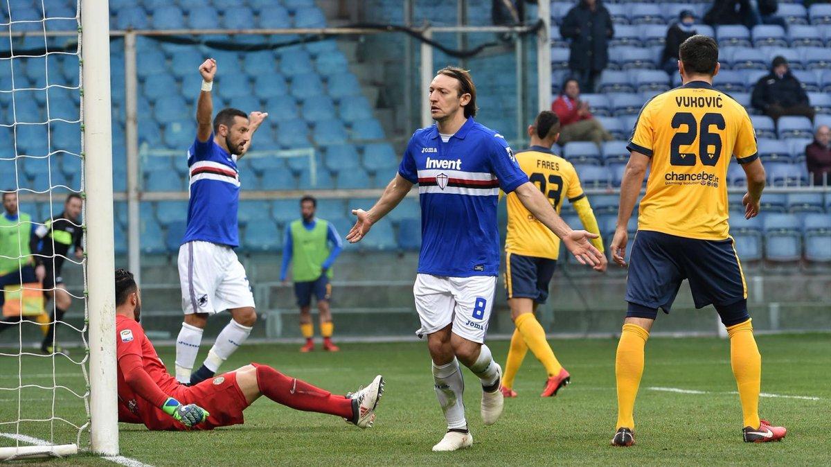 Video: Sampdoria vs Hellas Verona