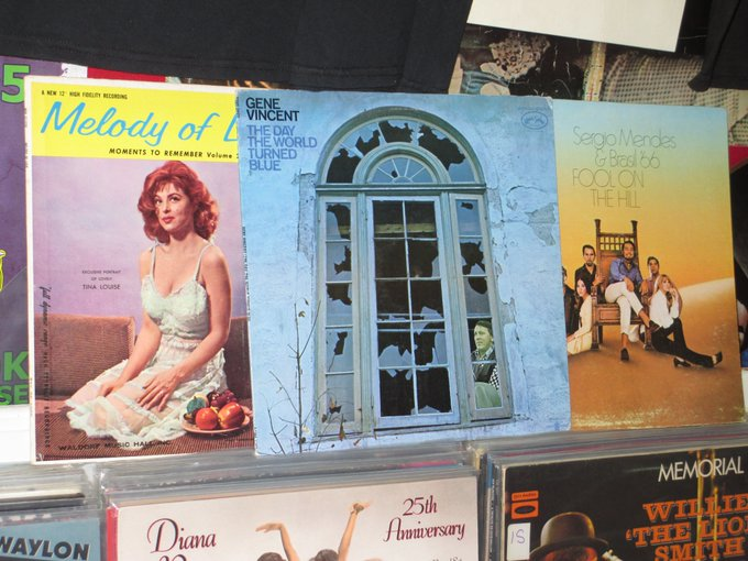 Happy Birthday to Tina Louise (Gilligan\s Island), the late Gene Vincent & Sergio Mendes