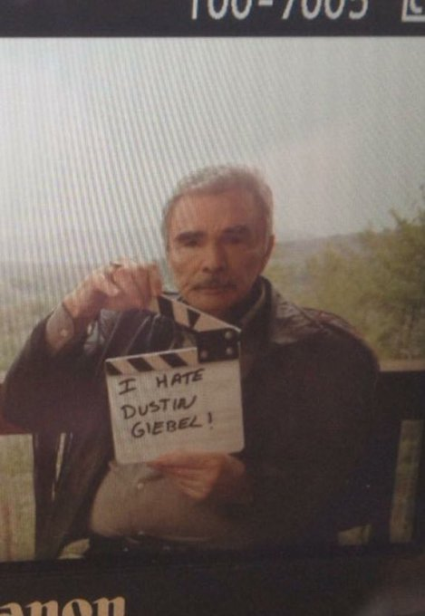 I d wish Burt Reynolds a happy birthday but he doesn t want to hear from me.