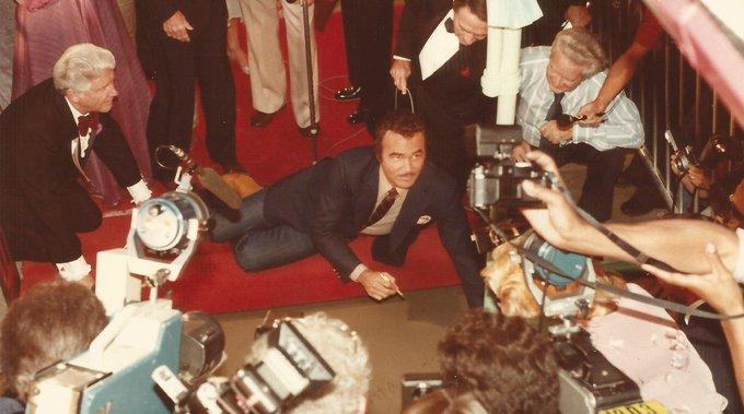 Happy birthday Burt Reynolds!
